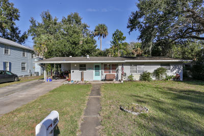 New Smyrna Beach Single Family Home For Sale: 529 Ball Street