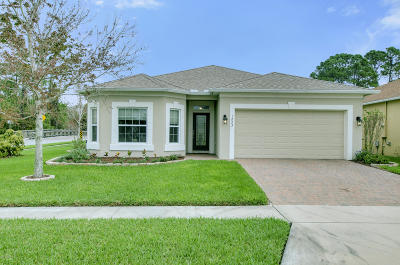 Port Orange Single Family Home For Sale: 1223 Cap Diville Avenue