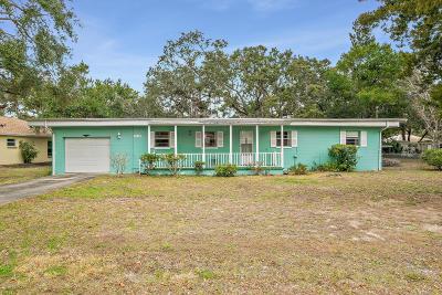 Port Orange Single Family Home For Sale: 5535 Magnolia Avenue