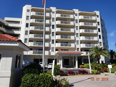 Daytona Beach Shores Condo/Townhouse For Sale: 3 Oceans West Boulevard #4A6