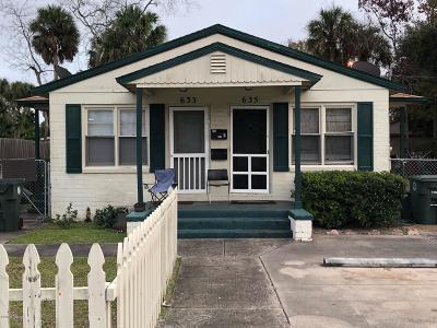 Volusia County Multi Family Home For Sale: 633 Magnolia Avenue