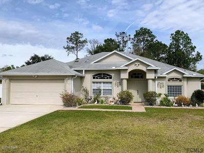 Palm Coast Single Family Home For Sale: 117 Rolling Sands Drive
