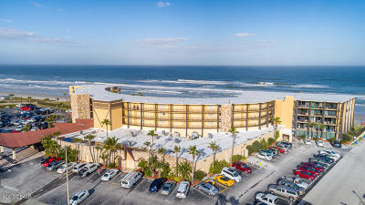 Daytona Beach Shores Condo/Townhouse For Sale: 2301 S Atlantic Avenue #201