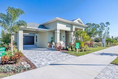 New Smyrna Beach Single Family Home For Sale: 261 Venetian Palms Lot 31