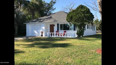 Port Orange Single Family Home For Sale: 5242 Riverside Drive