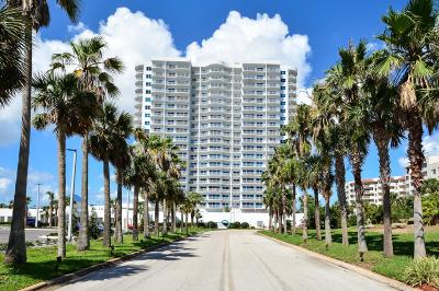 Daytona Beach Shores Condo/Townhouse For Sale: 2 Oceans W Boulevard #806