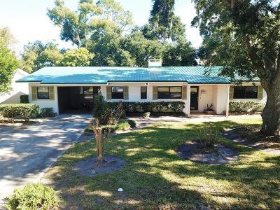 New Smyrna Beach Single Family Home For Sale: 1211 Live Oak Street