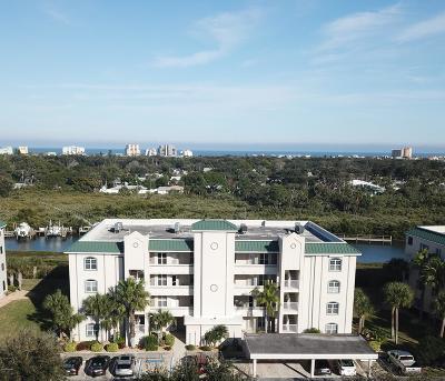 New Smyrna Beach Condo/Townhouse For Sale: 430 Bouchelle Drive #102