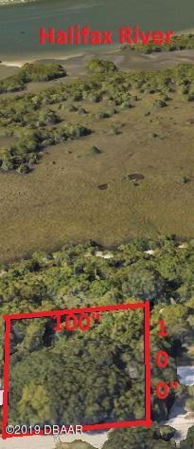Ponce Inlet Residential Lots & Land For Sale: 4748 S Peninsula Drive