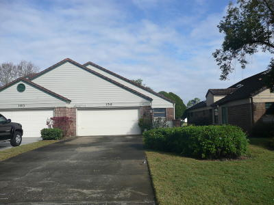 Volusia County Attached For Sale: 156 Palm Sparrow Court