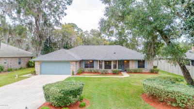 Port Orange Single Family Home For Sale: 403 Oak River Drive