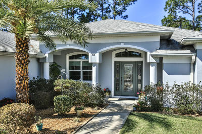 Palm Coast Single Family Home For Sale: 93 Bickford Drive