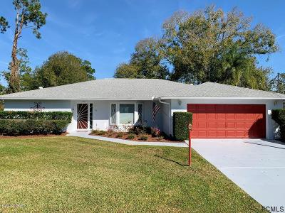 Palm Coast Single Family Home For Sale: 109 Woodhaven Drive