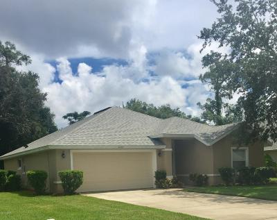 Port Orange Single Family Home For Sale: 6097 Jasmine Vine Drive