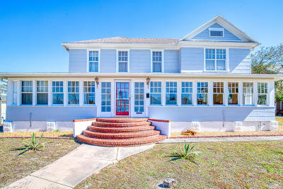 Daytona Beach Single Family Home For Sale: 242 N Peninsula Drive