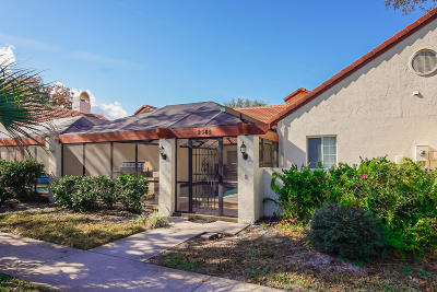 Spruce Creek Fly In Condo/Townhouse For Sale: 2585 Taxiway Echo
