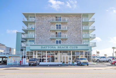 Daytona Beach Condo/Townhouse For Sale: 800 N Atlantic Avenue #708