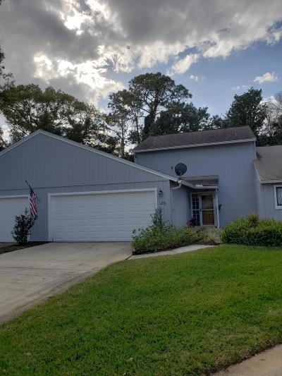 Volusia County Attached For Sale: 125 Northbrook Lane