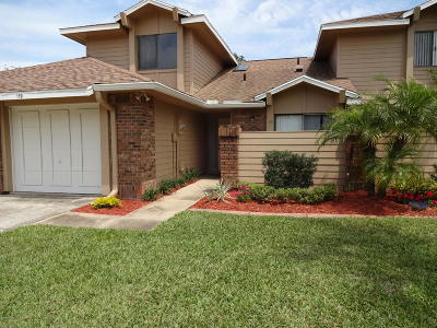 Volusia County Attached For Sale: 119 Surf Scooter Drive