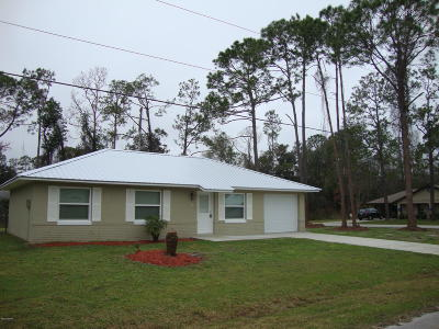 Palm Coast FL Single Family Home For Sale: $165,900