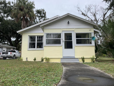 Daytona Beach Single Family Home For Sale: 125 N Caroline Street