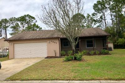 Volusia County Rental For Rent: 1407 Chamale Lane