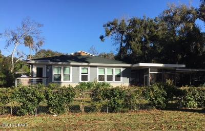 Daytona Beach Single Family Home For Sale: 716 Winchester Street