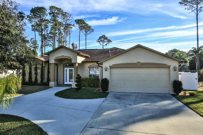 Palm Coast FL Single Family Home For Sale: $290,000