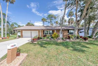 Daytona Beach Single Family Home For Sale: 1211 Golfview Drive