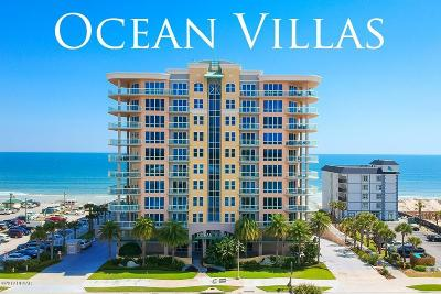 Daytona Beach Condo/Townhouse For Sale: 3703 S Atlantic Avenue #603