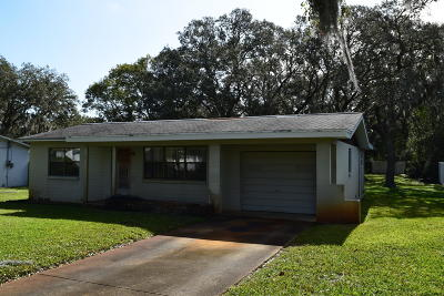 Ormond Beach FL Single Family Home For Sale: $139,900
