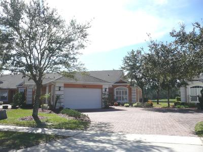Volusia County Attached For Sale: 162 Sedona Circle