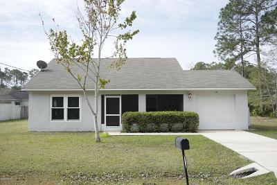 Palm Coast Single Family Home For Sale: 14 Zodiacal Place