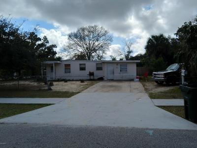 Daytona Beach Single Family Home For Sale: 584 Fairmount Road
