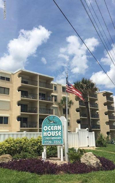 Ormond Beach Condo/Townhouse For Sale: 2220 Ocean Shore Boulevard #407A