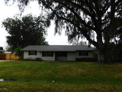 Edgewater Single Family Home For Sale: 2806 Victory Palm Drive