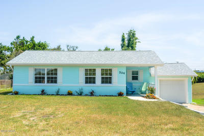 Daytona Beach Single Family Home For Sale: 204 Bonner Avenue