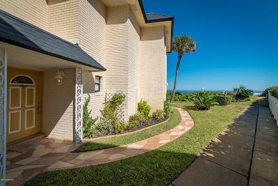 Ponce Inlet Single Family Home For Sale: 4787 S Atlantic Avenue #5