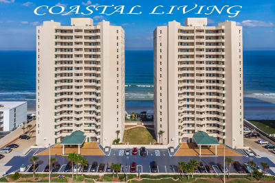 Daytona Beach Shores Condo/Townhouse For Sale: 3311 S Atlantic Avenue #1201