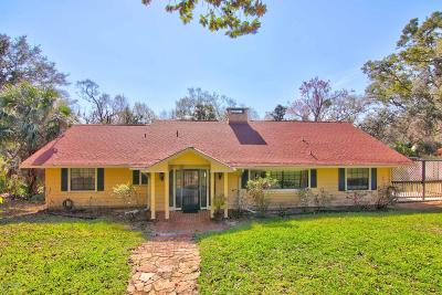 Port Orange Single Family Home For Sale: 1791 Taylor Road