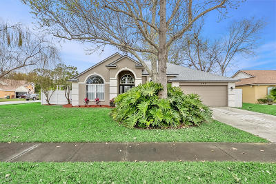 Daytona Beach, Daytona Beach Shores Single Family Home For Sale: 100 Chatham Circle