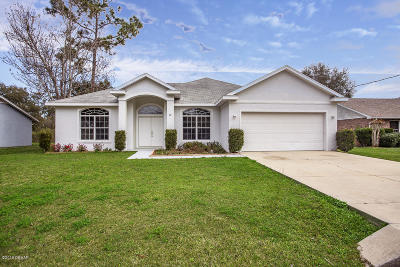 Palm Coast Single Family Home For Sale: 20 Westfield Lane