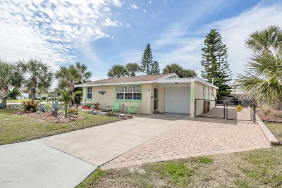 Ormond Beach, Ormond-by-the-sea Single Family Home For Sale: 1 Palmetto Drive