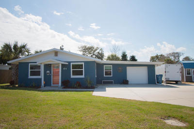 Ormond Beach, Ormond-by-the-sea Single Family Home For Sale: 64 Brooks Drive