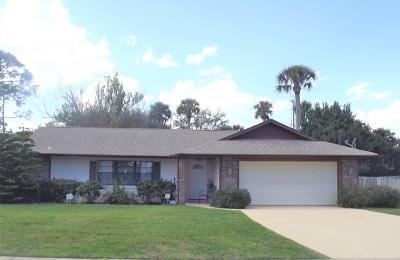 Port Orange Single Family Home For Sale: 839 Chickadee Drive