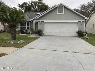 Port Orange Single Family Home For Sale: 5898 Woodpoint Terrace