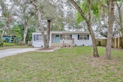 Ormond Beach FL Single Family Home For Sale: $169,900