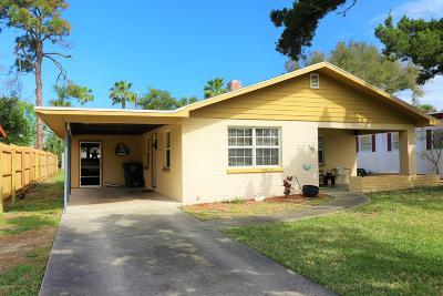 Daytona Beach Single Family Home For Sale: 317 Golf Boulevard