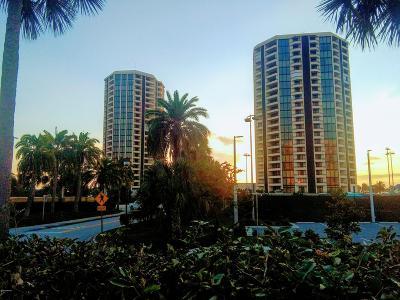 Daytona Beach Shores Condo/Townhouse For Sale: 1 Oceans West Boulevard #4B3