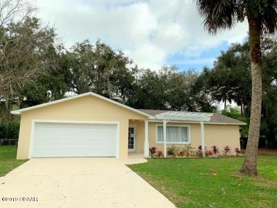 Ormond Beach Single Family Home For Sale: 114 Camino Circle